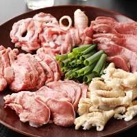 【料理】 新鮮だからこそ美味しいレバーなどの豚もつを堪能!