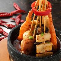 激辛ファンにおすすめ!フォトジェニックな四川風激辛串煮鍋