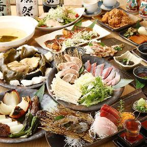 こだわり鮮魚と炭焼地鶏 炉〜ひばち〜