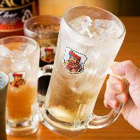 ハイボール一杯190円!お仕事帰りやちょい飲み、一次会におすすめ!