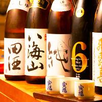 【銘柄酒の数々】全国各地の地酒・日本酒・焼酎が飲み放題で登場
