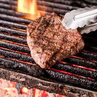 【肉料理】 備長炭で焼き上げる絶品肉料理をご堪能ください