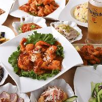 【2時間食べ飲み放題】 約100種の定番中華料理が食べ放題!