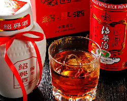 【本場の味と合わせて】 紹興酒や白酒などの中国種もご用意