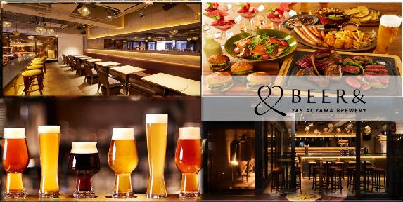 クラフトビールダイニング BEER&246 aoyama breweryの画像