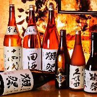 日本酒や焼酎も充実◎焼き鳥や鍋に相性抜群のラインナップ♪