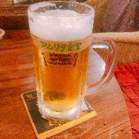 シンハーの生ビール!絶品です。