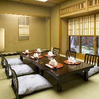 完全個室のお部屋で優雅で上質な時間をお過ごしください。