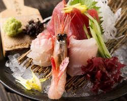 産地直送鮮魚も豊富に取り揃えています