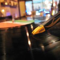レコードもご用意。音楽を楽しむのも良し!