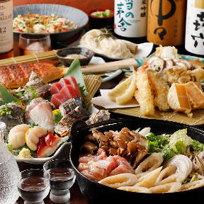 比内地鶏・天ぷら 秋風の画像
