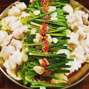 焼肉串 もつ鍋 もつ金
