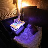 人気のアクアリウム個室はカップルに人気のお部屋です♪