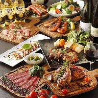 ローストビーフなど当店自慢の熟成肉使用の料理が満載です♪