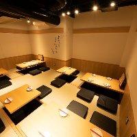 大人数のご宴会や飲み会などの集まりに最適なお座敷席をご用意!