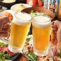 焼酎・日本酒を豊富にご用意。お肉に合うワインもございます。