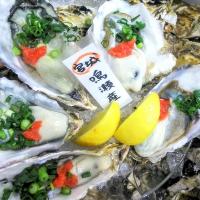 産地にこだわる絶品牡蠣は季節に合わせた美味しいものをご提供。