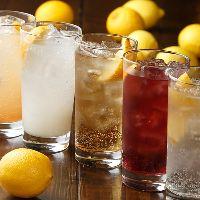 川崎で唯一!?他では飲めない10種類の檸檬サワーをご用意!