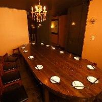 宴会や飲み会に最適な完全個室席有!最大20名様まで対応可!