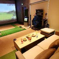 個室のソファー席でゴルフパーティーはいかがでしょうか?