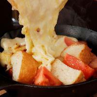とろ~りとろけるチーズはインスタ映え&食欲をそそります!