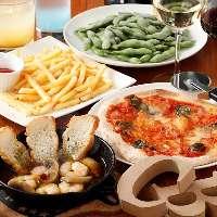 女子会や宴会などにもお勧めのコース料理はボリューム満点!