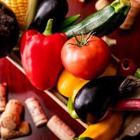【立川野菜】 鮮度抜群!立川で獲れた旬野菜を絶品イタリアンで