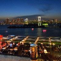 お台場から東京の夜景が見れます♪