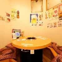 【完全個室】 掘りごたつ席のプレイベーと空間は人気のお席♪