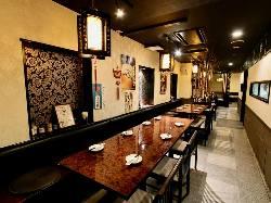 本格的な中国の魚料理も楽しめます