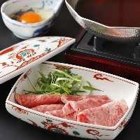 栃木県ブランド和牛のとちぎ和牛など地場食材を使用