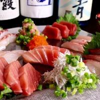 三崎の鮪を使用した 絶品料理。