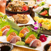 上質で新鮮な食材を使った自慢の創作料理をご堪能ください♪