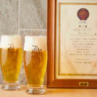 熟成された旨味が特徴の「熟撰アサヒプレミアム生ビール」を堪能