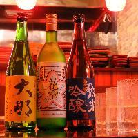 栃木県の地酒も揃えています。