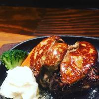 【岩手県産短角牛】吊るし絶品熟成肉ハンバーグ☆