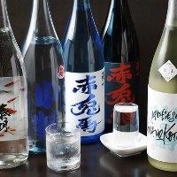 こだわりの焼酎や日本酒も豊富に取り揃えております♪