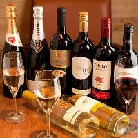 ◆*ボトルワイン*◆ 料理と合わせて楽しめるワインが勢揃いです