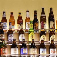 本格アイリッシュビールやクラフトビールをご用意!
