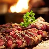 【多彩なグリル】 低温熟成させたお肉を薪火で絶妙に焼き上げ