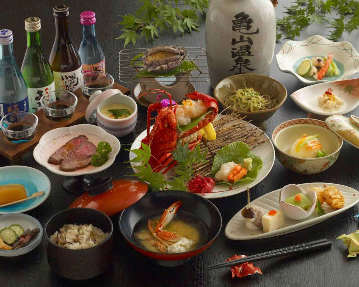 会席個室&昼食堂 亀山温泉ホテル