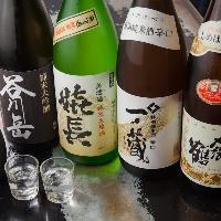 【厳選した日本酒揃い】 定番から希少銘柄まで人気の一杯を堪能