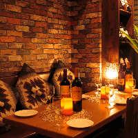 異国情緒漂う都会のオアシス★肉とワインで今夜はいかがですか?