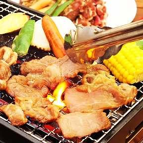 食べ放題BBQ 小田原 ビアガーデンの画像