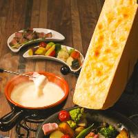 話題沸騰中!ラクレットチーズのコースをご用意!2980円~◎