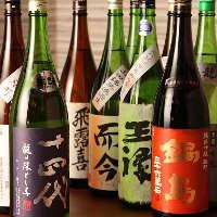 「獺祭」や「十四代」など地鶏料理に相性抜群な日本酒も多数♪