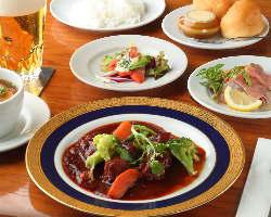 本格西洋食です!メニュー多数ございます!和食もあります!