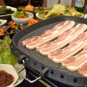 本格韓国料理とサムギョプサル あんず 神保町