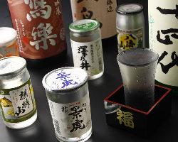 季節のお酒数種がワンコインの500円でお楽しみ頂けます!