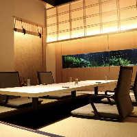 和洋折衷の掘りごたつ個室や大型個室など素敵な空間多数